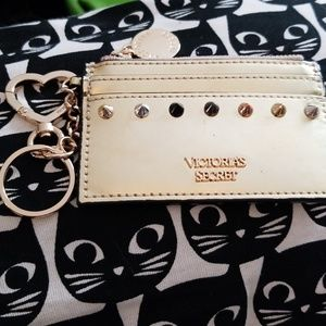 Victoria's secret card holder coin purse